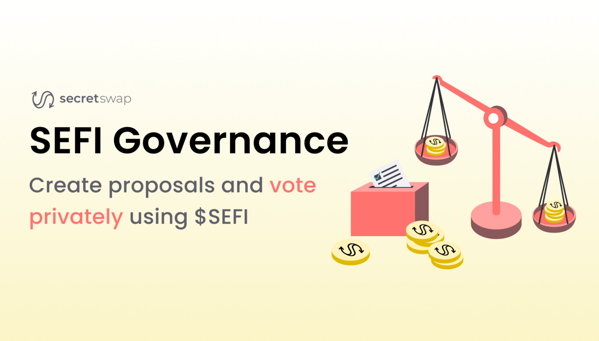 Last Week in Governance: Secret Network launches $SEFI, first private voting for on-chain governance, Biconomy raises $9M ahead of governance token launch, YGG moves toward DAO with 25M tokens sold out in 31 secs