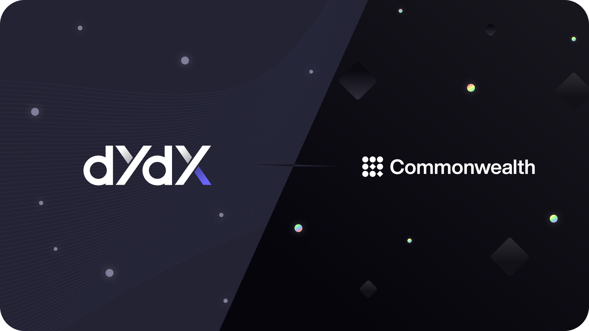 Announcing dYdX x Common Protocol