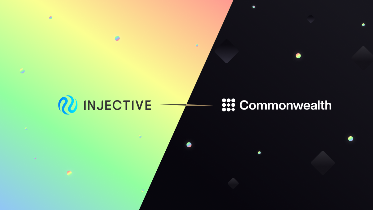 Injective Launches Unified Governance Interface with Commonwealth